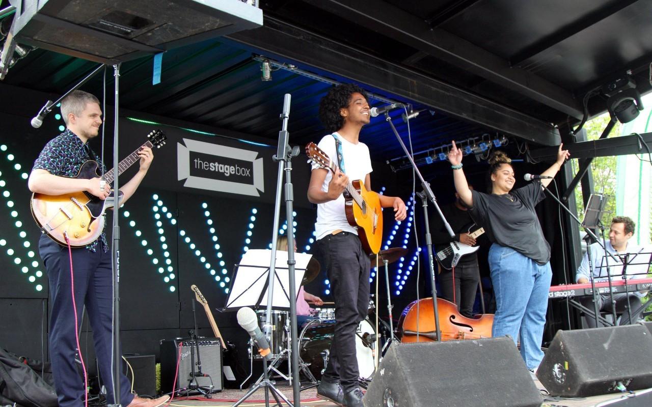 Happy Streets Festival: World Heart Beat - Brazilian Band led by Ava Joseph