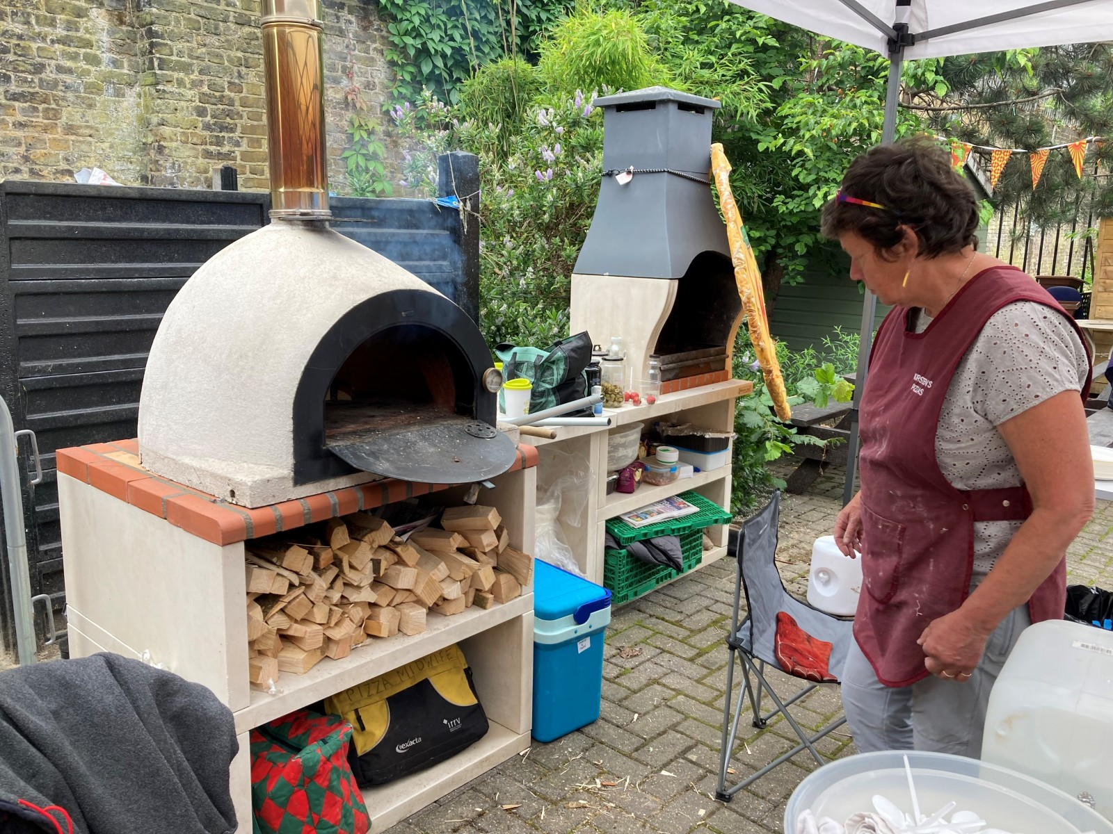 Happy Streets Festival: Pizza making ovens