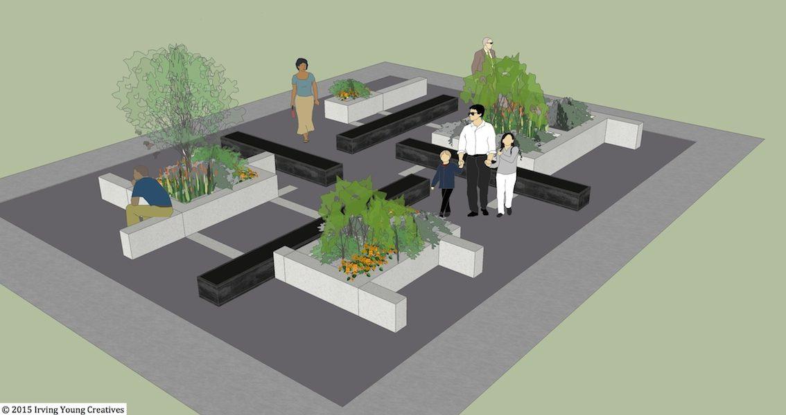 Hortus Non Conclusus – Barbara Hepworth inspired garden
