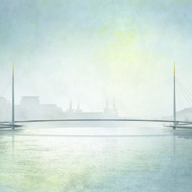Bystrup Architecture, Design and Engineering: View along river Thames
