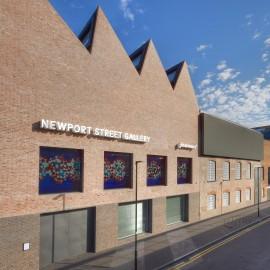 Newport St Gallery facade: ® Victor Mara Ltd, Photo Prudence Cuming