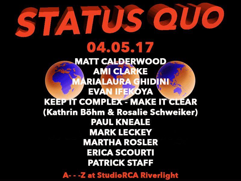 StatusQuo.StudioRCA.Poster